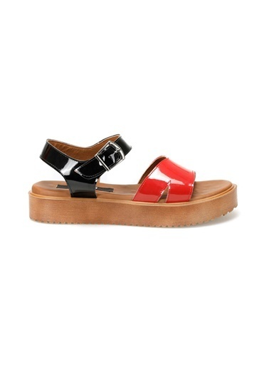 Kuum Sandalet Kırmızı